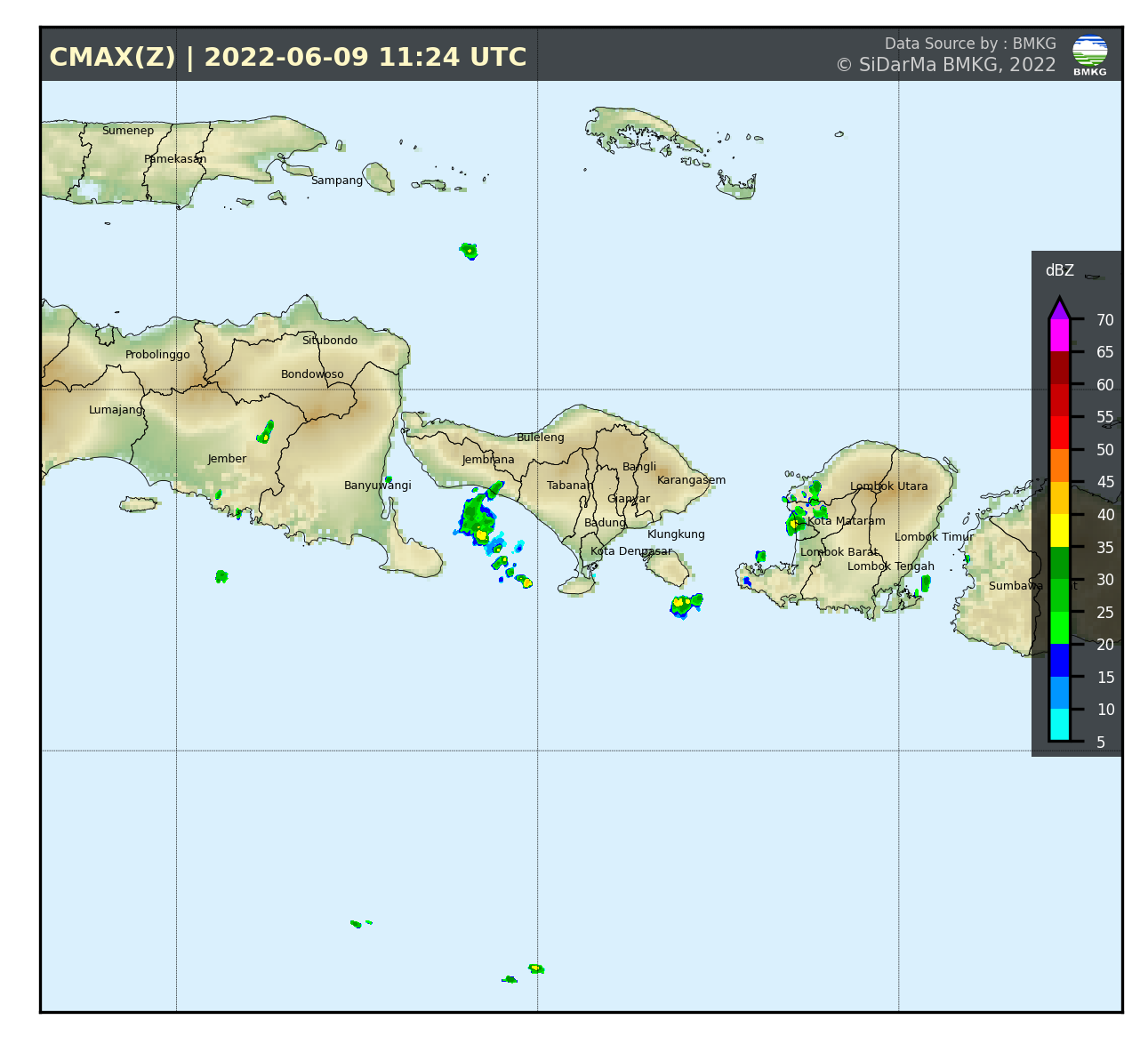 Citra Radar Cuaca